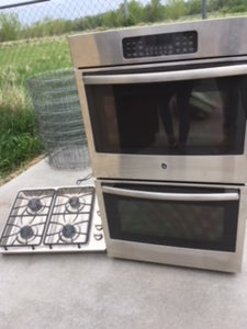Nearly-New Stainless Steel Appliances in GREAT Condition!- $750