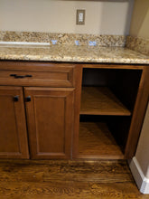 Large Maple Kitchen Cabinet Set w/ Pullouts + Extra Tall Wall Cabinets