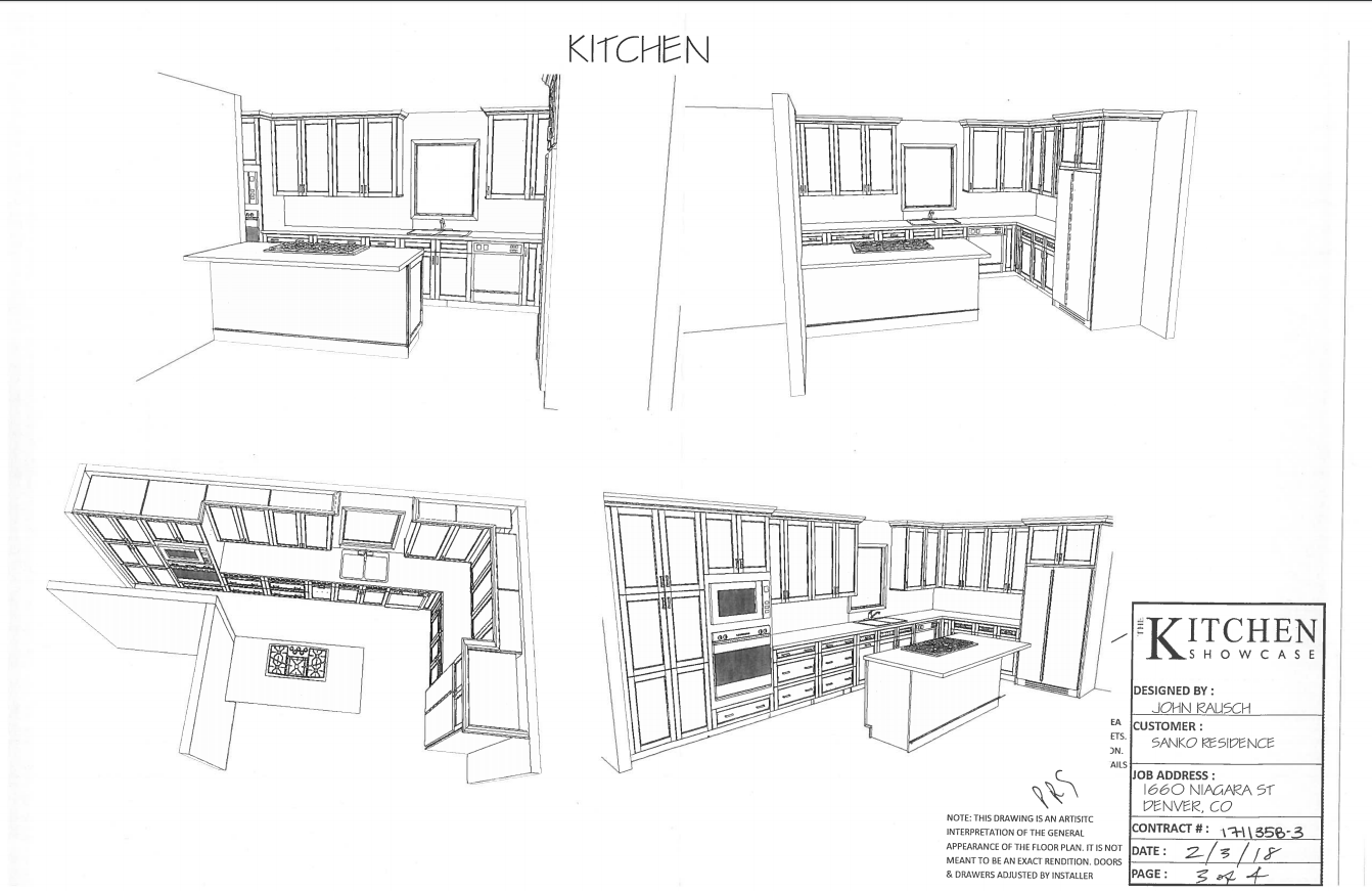 New Misordered Kitchen