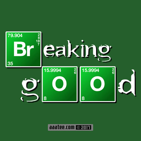 Parody Breaking Bad T-Shirt - BREAKING GOOD Tee - Walter White & Meth No More - TV Series Hilarious Joke Shirts