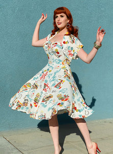 Doris Mayday for Loco Lindo - Vegas Baby Marta Dress