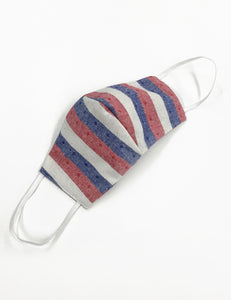 Red White & Blue Americana Handmade Washable Face Mask