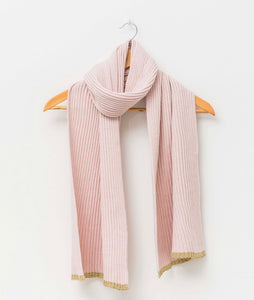 Stella + Gemma ribbed Scarf asstd colours