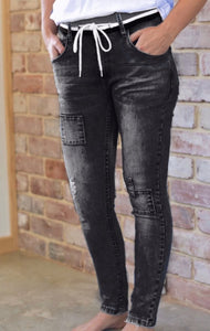 Style Laundry Super Stretch Skinny Jeans Black Wash