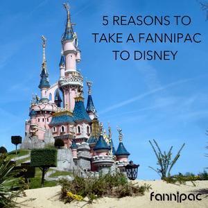 5 Reasons to Take a Fanny Pack to Disney (and other amusement parks)