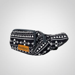 Warrior Black Fanny Pack