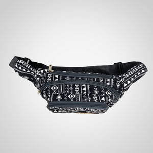Warrior Black Waist Bag