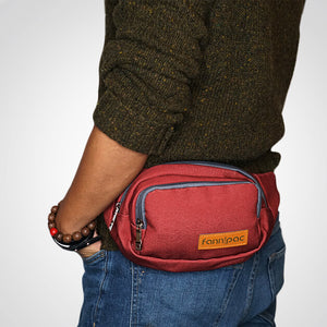Rich Burgundy Fanny Pack