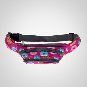 Diet Kryptonite in Purple Hip Bag
