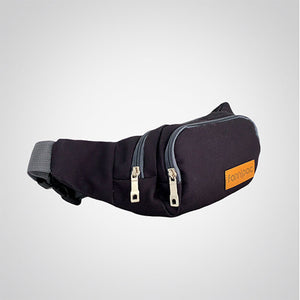 Deep Black Waist Bag
