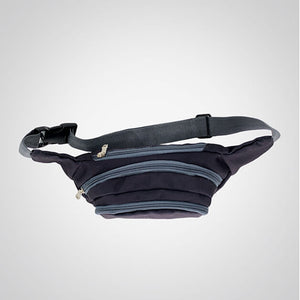Deep Black Bum Bag