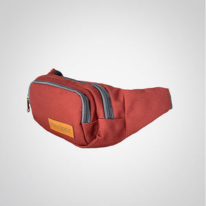 Rich Burgundy Waist Bag