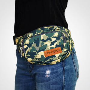 Can't See Me Camo Fanny Pack