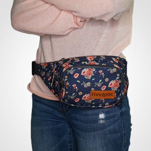 Grandma's Couch Floral Fanny Pack