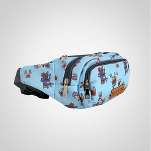 Oui Oui French Bulldog Hip Bag