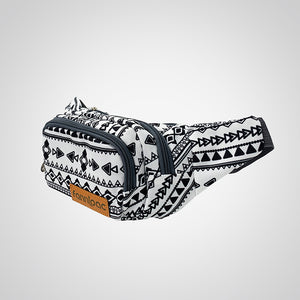 Warrior White Fanny Pack