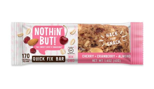 Nothin' But Cherry Cranberry Almond Quick Fix Bar