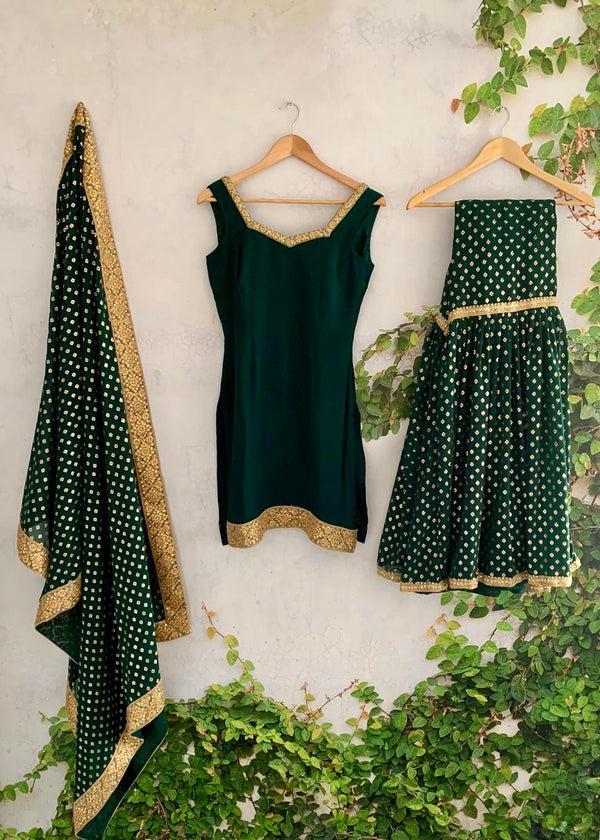 Emerald Gharara (Off the Rack)