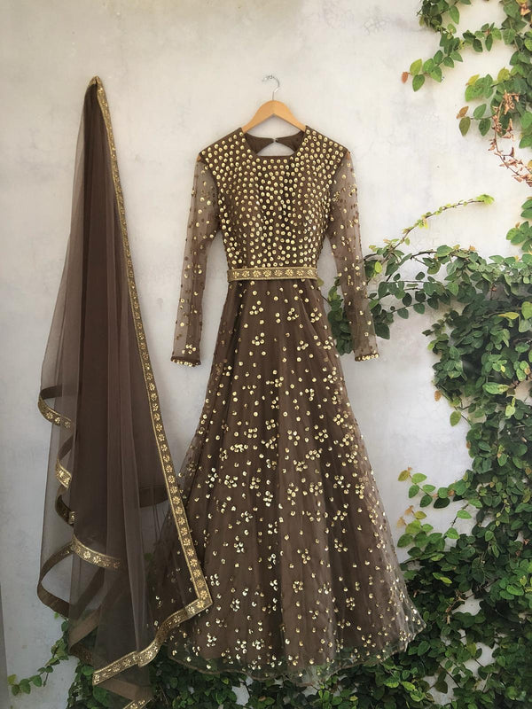 Starry Night Anarkali