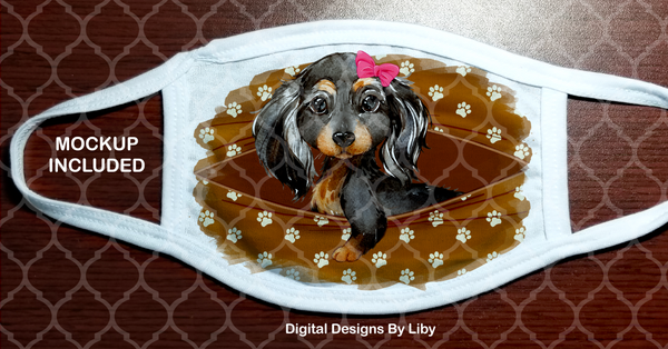 PEEK-A-BOO PETS GIRL DACHSHUND (Center & Full Designs)
