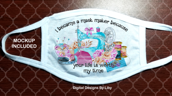 MASK MAKER LOVE (2 Designs Included)