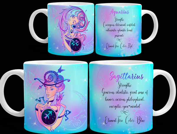 CELESTIAL LADIES ZODIAC BUNDLE (All 12 Signs)