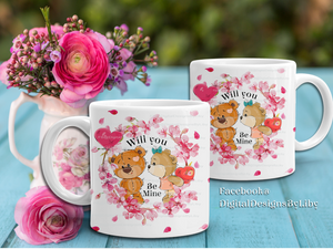 BE MINE BEARS Mug only design