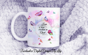 BUTTERFLY WINGS (Design for Mugs, T-Shirts, Pillows & More)+MOCKUPS