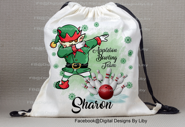 DABBING ELF BOWLER (Mug, T-Shirt Designs & More)