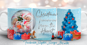 CHRISTMAS TREASURES Mug & Slate Designs