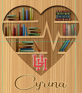 BOOK LOVER FOR CYRINA