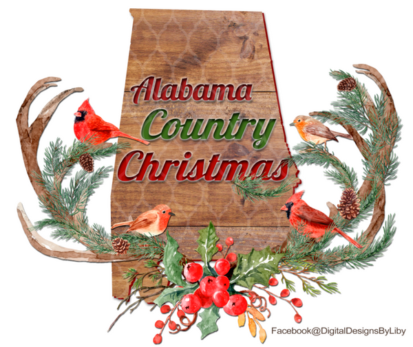 COUNTRY CHRISTMAS - Select From Various States