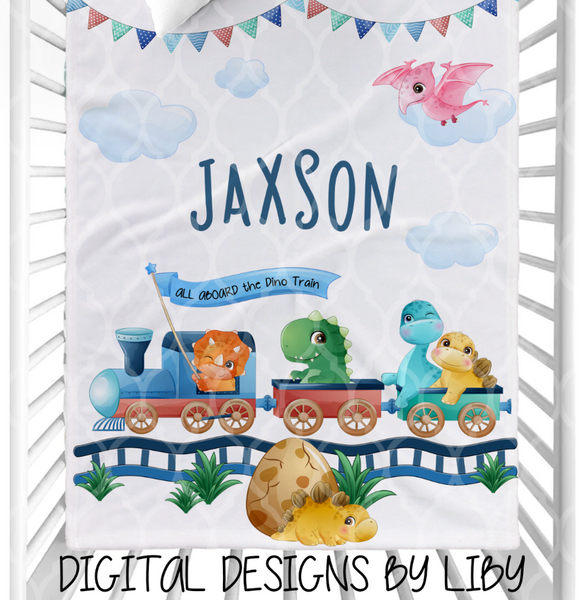 DINO DEPOT BLANKET & PILLOW DESIGNS