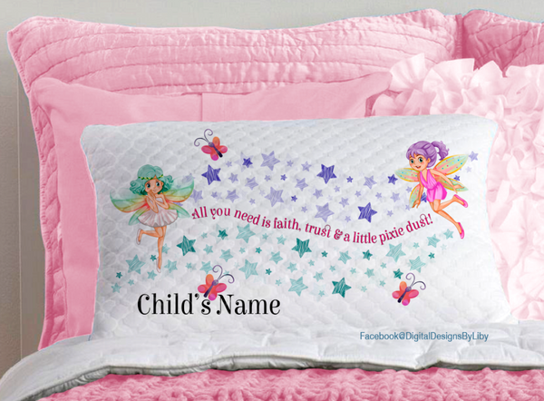 A LITTLE PIXIE/FAIRY DUST!  (6 Designs for Pillows, T-Shirts, Mugs & More)