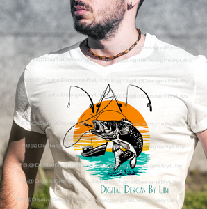FISHING DAD (T-Shirt & More Design)