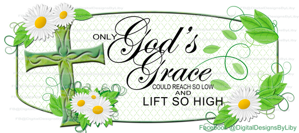 God's Grace Mug Template (only)