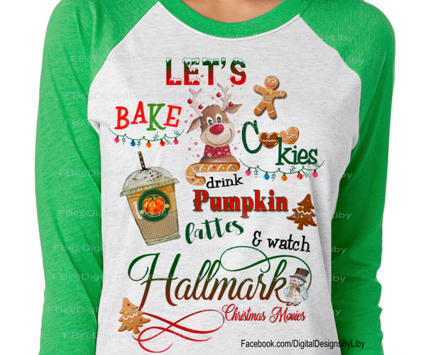 Let's Bake XMAS T-Shirt Design (2 Designs Included)