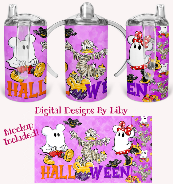 HALLOWEEN FRIENDS SIPPY CUP