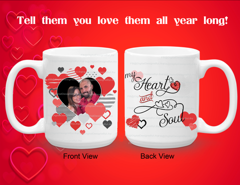 Heart-In-Heart Mug Template