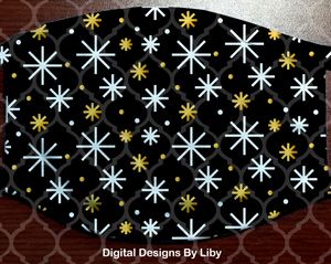 HOLIDAY PATTERN3 (Center & Full Designs)