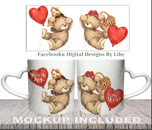 KEY TO MY HEART (Designs for Mug, Pillow, T-Shirt & More)