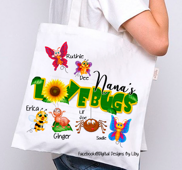 LOVE BUGS (Mug, T-Shirt Designs & More)