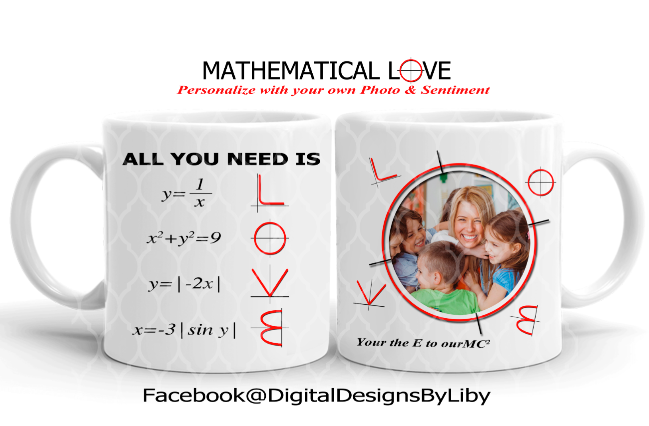 MATHEMATICAL LOVE (2 Designs Included)