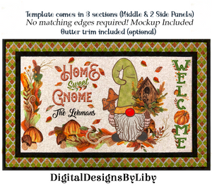 HOME SWEET GNOME MAT