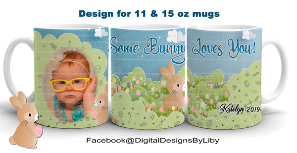 """BUNNY LOVE"" Easter Design"