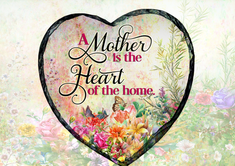 MOTHER'S DAY HEART SLATE
