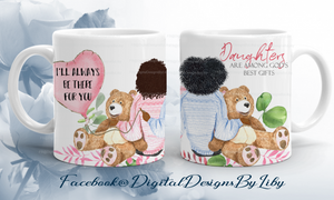 BEARS & BALLOONS MEGA BUNDLE 2 (Dark Skin Beauties-Mug, Pillow & More)