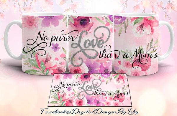 PURER LOVE (Mug & Coaster Set)