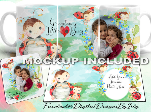 MOMMY'S LITTLE LOVE BUG (Designs for Mugs, Pillows, T-Shirts & More)