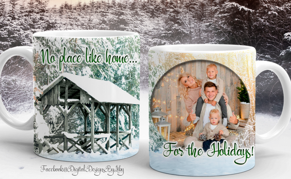 NO PLACE LIKE HOME... (Mug & Slate Designs)